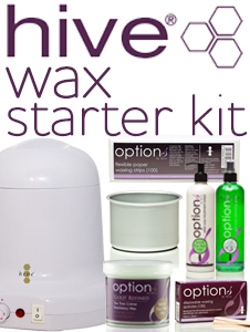 Hive Wax Starter Kit - fantastic 7-piece starter set - SAVE 40%