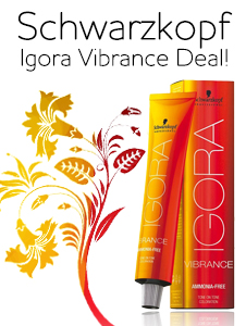 Buy 6 Igora Vibrance & Receive Developer Bottle FREE