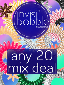 Invisibobble - Any 20 Mixed Deal, save 10%!