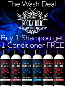 Tigi Rockaholics Shampoo and FREE Conditioner
