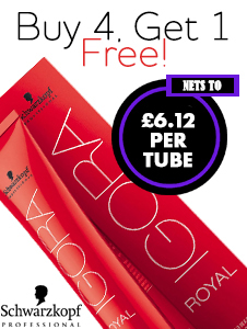 Buy 4, get 1 Free Colour Deal - Schwarzkopf Igora Royal