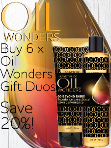Christmas Retail - Oil Wonders Gift Duo Deal - buy 6 save 20%!
