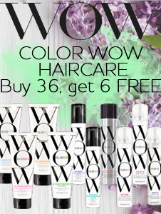 Color Wow Haircare - buy 36, get 6 FREE