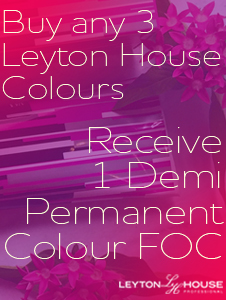 Leyton House Colour - buy any 3, receive a Demi Permanant FOC