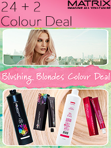 Blushing Blondes Colour Deal - any 24 plus 2 Developers FOC