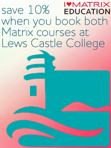 Lews Castle College - 10% off when you book both courses!