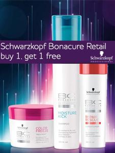 Schwarzkopf Bonacure Retail - Buy 1 get 1 free