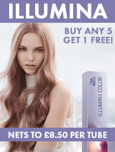 Wella Illumina - Buy any 10 Tubes and Get 1 Foc