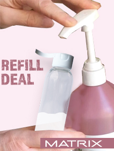 Refill/Sample Kit - Litre pumps & Travel bottles