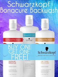 Schwarzkopf Bonacure Backwash - Buy 1 get 1 free