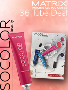 SoColor.Beauty 36 Tube Deal - FOC Shade Chart