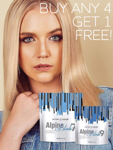 Alpine Blonda 4 + 1 Deal
