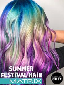 Summer Festival Hair