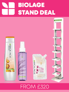 Biolage Retail Stand Deal