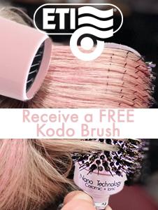 ETI 3200 - Buy Any Dryer and Get a FREE Kodo Brush