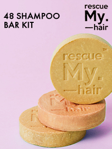Rescue My Hair 48 Pc Shampoo Bar Kit