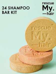 Rescue My Hair 24 Pc Shampoo Bar Kit