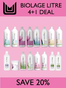 Biolage Litre Deal - Buy 4 Get 1 FREE