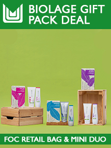 Biolage Gift Pack Deal - Free Mini Duos & Retail Bags