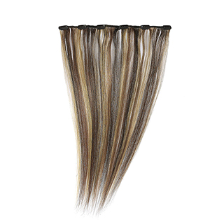 "SILKY STRAIGHT CLIP WEFT 18"" (2/33/27) HIGHLIGHTED"