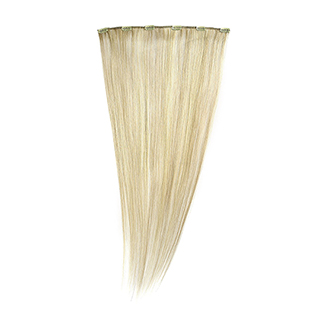 "SILKY STRAIGHT CLIP WEFT 18"" (25/22) HIGHLIGHTED"