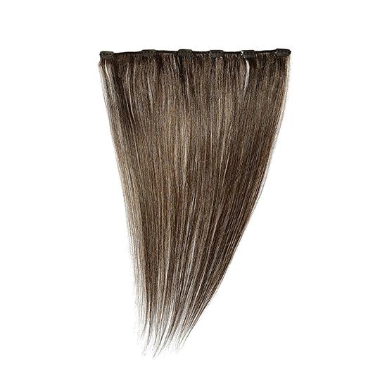 "Silky Straight Clip Weft 18"" (5B)"