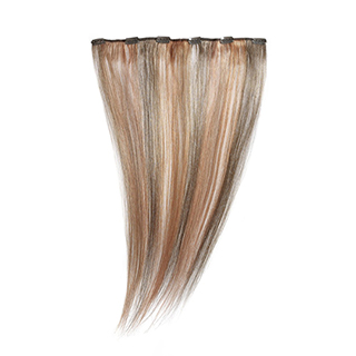 "SILKY STRAIGHT CLIP WEFT 18"" (6/6OR/MP67) - HIGHLIGHTED"