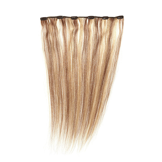 "Silky Straight Clip Weft 18"" (7Or/30) - Highlighted"