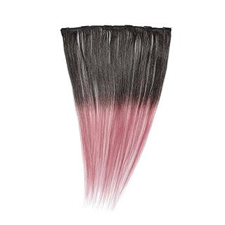 "Silky Straight Clip Weft 18"" (85) Dip Dye"