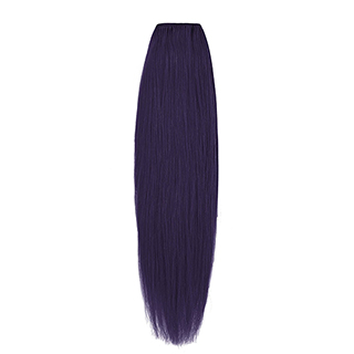 "EURO SILKY STRAIGHT WEFT 18"" (D/PURPLE)"