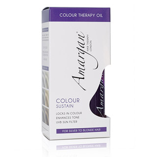 AMARGAN COLOUR THERAPY OIL SILVER/VIOLET 100ML