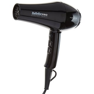 BABYLISS BLACK POWERLITE HAIRDRYER 1900W