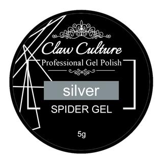 Claw Culture Spider Gel Silver 5g