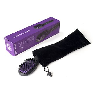 CORIOLISS MINI STRAIGHTENING HOT BRUSH (MIXED COLOURS)