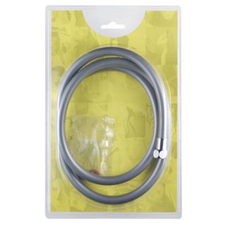 CREWE ORLANDO SILVER PVC FLEXI HOSE