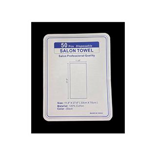 CRewe Orlando Black Disposable Towels Pack of 50
