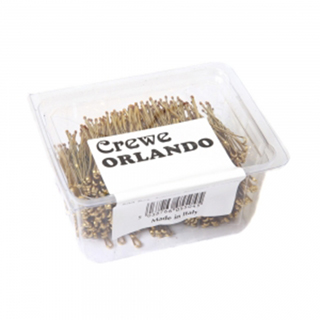 "CREWE ORLANDO 2"" BLONDE WAVEY KIRBY GRIPS (PACK OF 500)"