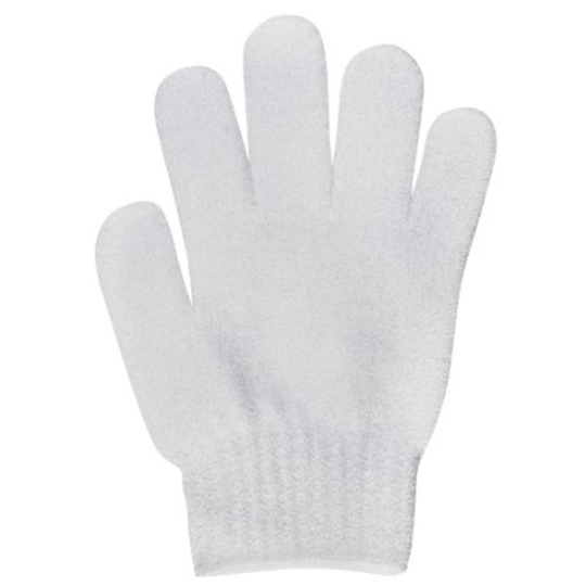 Cuccio Exfoliating Gloves - White