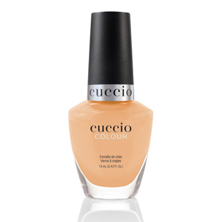 New Cuccio Polish - Rainbow Sorbet Collection - Peach 13ml