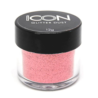 Cuccio Icon Glitter Nail Dust - Standard Flamingo 008 Hex c