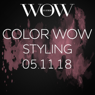 Creative Styling With Color Wow - Aberdeen - 5th November - 09.45-5pm