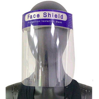 Re-Usable Perspex Face Shield - single