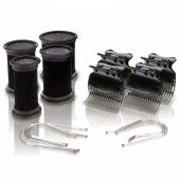 DIVA SESSION 25MM ROLLERS+CLIPS+PINS 4PK