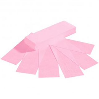 ECONO PINK PAPER WAXING STRIPS (100)