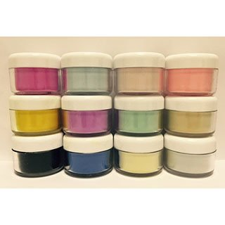 SINGLE COLOURED ACRYLIC POWDER POTS