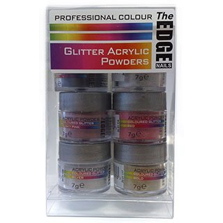 THE EDGE ACRYLIC GLITTER BOX SET C