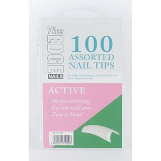 THE EDGE ACTIVE TIPS 100 ASSORTED