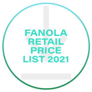 Fanola Retail Price List 2021
