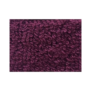 BURGUNDY BATH SHEET (100 x 150cm) SINGLE
