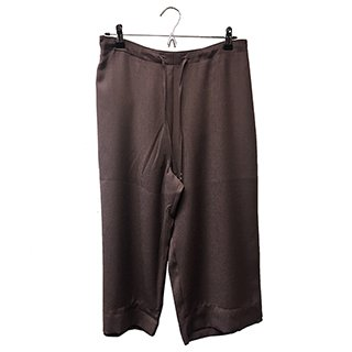 * CROPPED TROUSER BITTER CHOC SIZE 10
